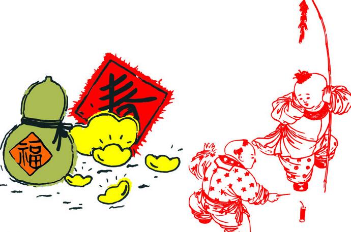 春节的来历与传说