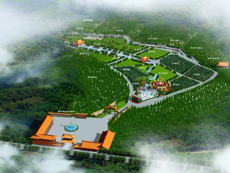 公墓规划设计平面图