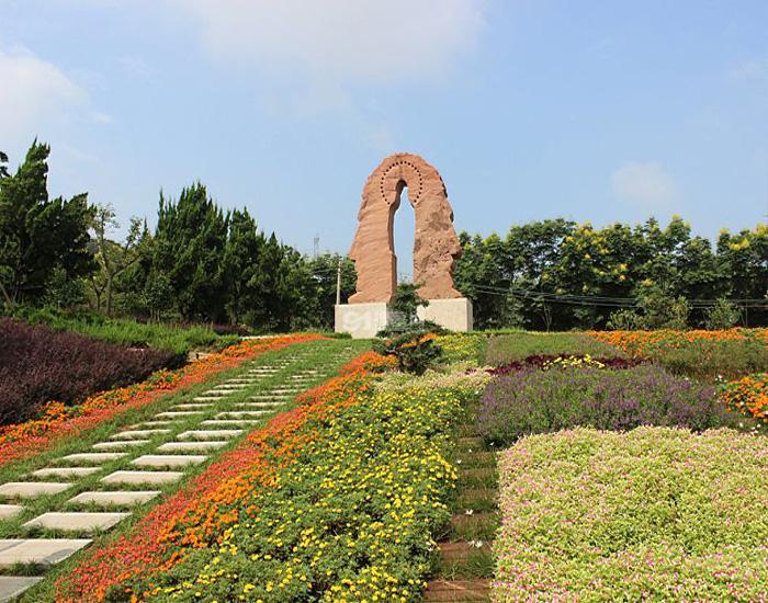 武汉园林式生态陵园,湖北武汉万福净土陵园怎么样图片